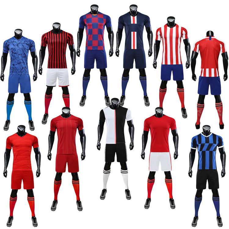 2020 Trend <span class=keywords><strong>Club</strong></span> <span class=keywords><strong>Voetbal</strong></span> <span class=keywords><strong>Kits</strong></span> Hoge Kwaliteit <span class=keywords><strong>Voetbal</strong></span> Jersey Set Uniform Voor Man