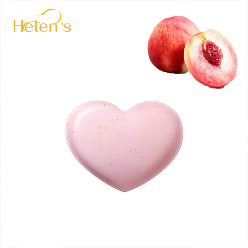 Top Sell Fair And Lovely Sweet Peach Scrub Soap Pigmentation Removal For Face And Body Soap