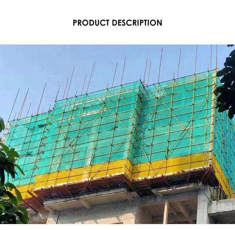 Hot sale Green building covering safety net Multifunctional building Construction net