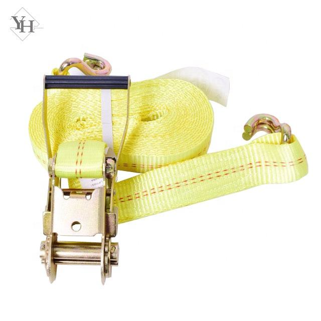 "wholesale heavy duty 2"" 27ft 30ft ratchet straps tie down straps for container"
