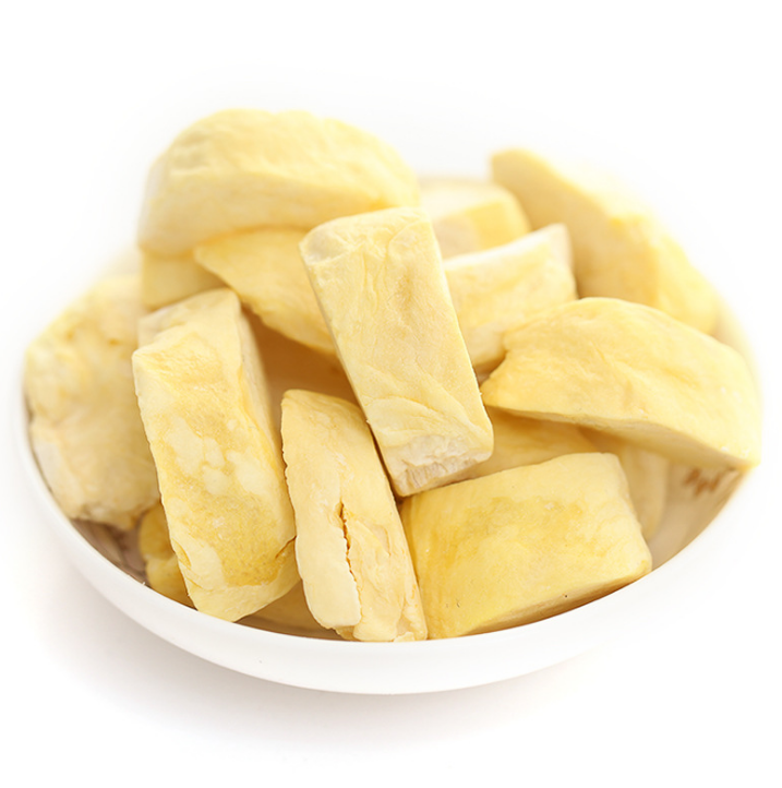 Sweet Freeze Dried Durian Fruit Chips