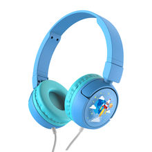 85dB Volume Limited Hearing Protection With Microphone 3.5mm Jack Foldable Adjustable Wired Headphone for Children Kids