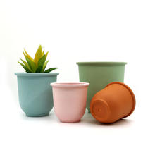 Wholesale Mini Plastic Colorful China Small Flower Pots