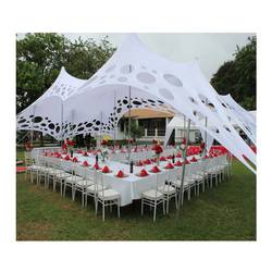 outdoor 10x15m cheese stretch holes wedding party event tent