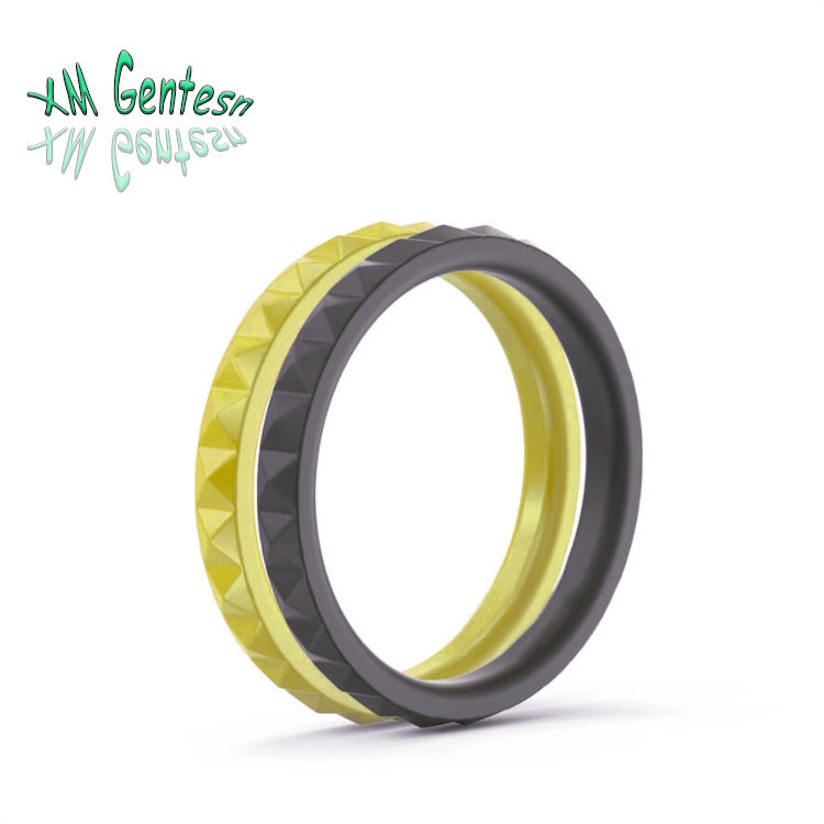 2020 custom logo fashion design silicone rings wedding bands for men and women