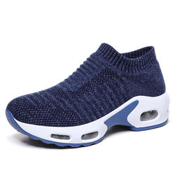 Cross border popular women's shoes socks shoes large shoes air cushioned sneakers