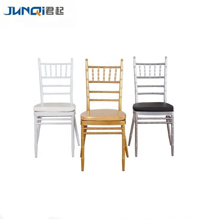10 Years Manufacture Supply Quality Stacking Chiavari Chairs Weddings