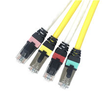 OEM  Cat 6 shielded patch cord Communication Cables