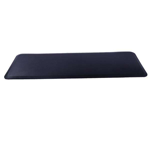 "Barber Shop salon Mat 3x5 Anti-Fatigue Floor Mat Salon Mat Black Semi Circle Salon Mat 1/2""Thick Office Comfort Floor Mat"