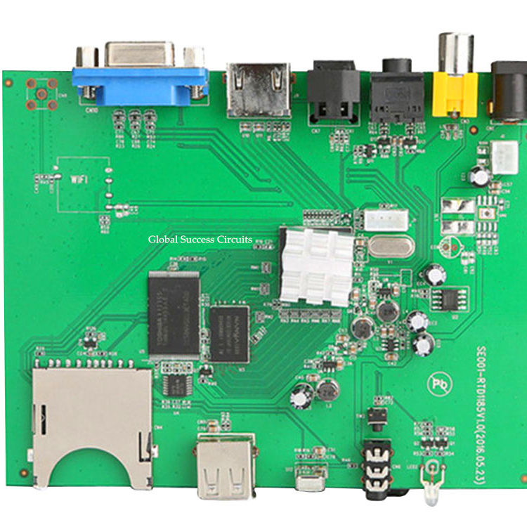 Quick Turn Gratis Monster 94v0 Pcb Maken FR4 Base Elektronische <span class=keywords><strong>Pcba</strong></span> Montage Ts 16949
