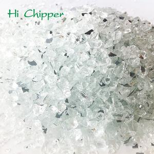 Crushed Mirror Chips Flooring Decoration