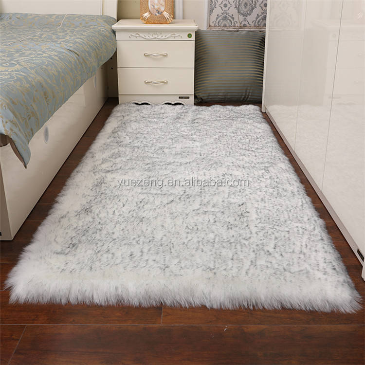 Newest Large Rug Arrival Winter Faux Fur Area Rug