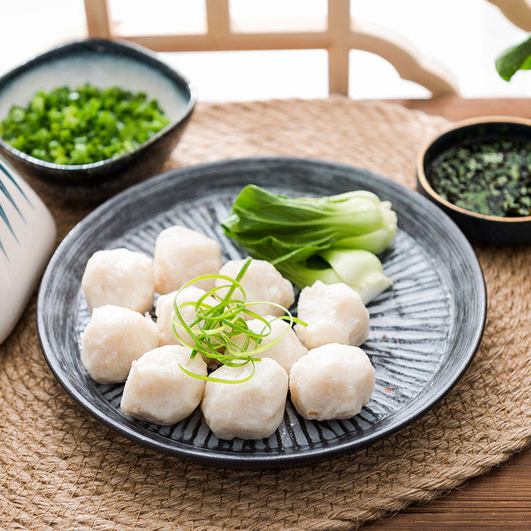 Wholesale Singapore Food Fish Ball Surimi products traditional fish ball