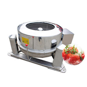 scale semi-automatic vegetable dewater fry food deoil machine vegetable dehydrator