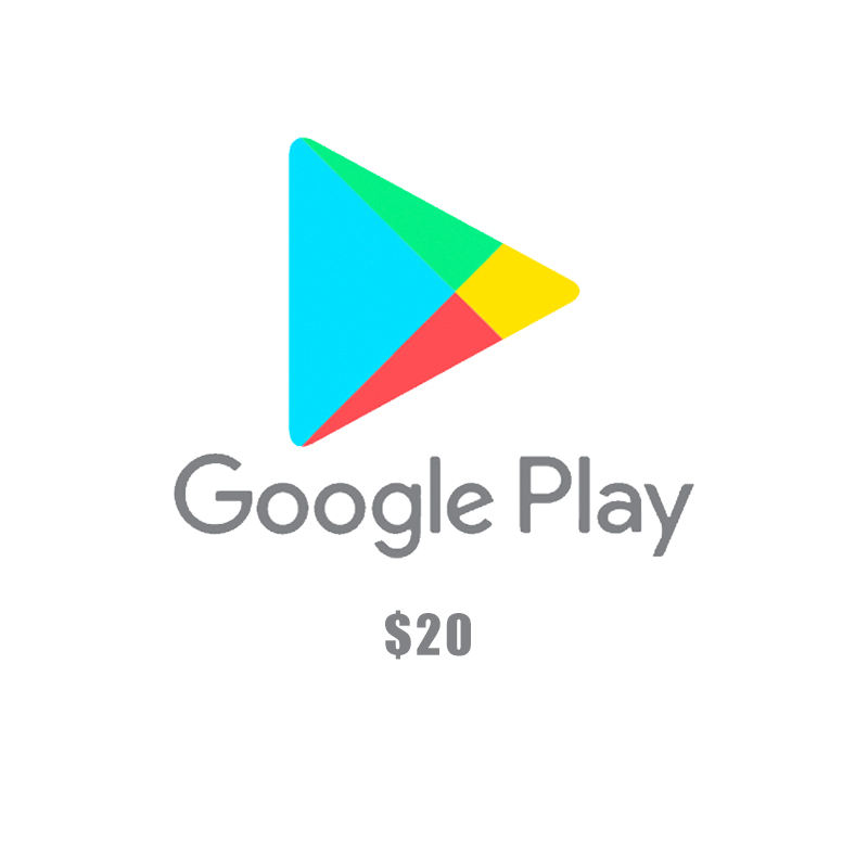 20USD Google play gift card