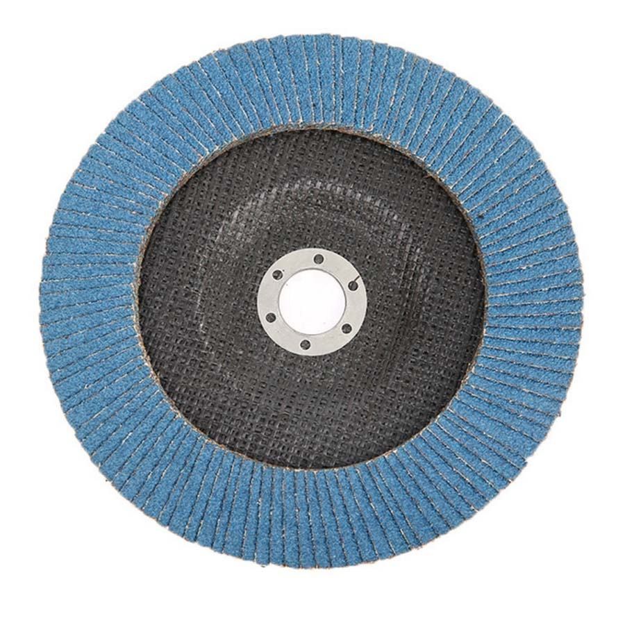 Customized size POWERKIN aluminium oxide flap disc with good quality
