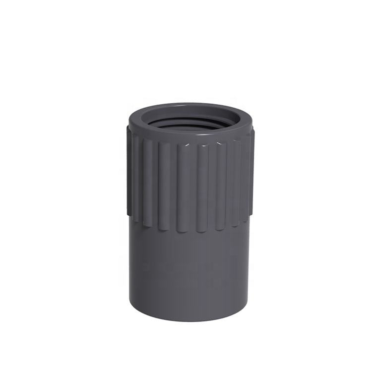 UPVC PVC SCH80 plastic Irrigation Pp Compression Fittings pipe quick coupling female adapter