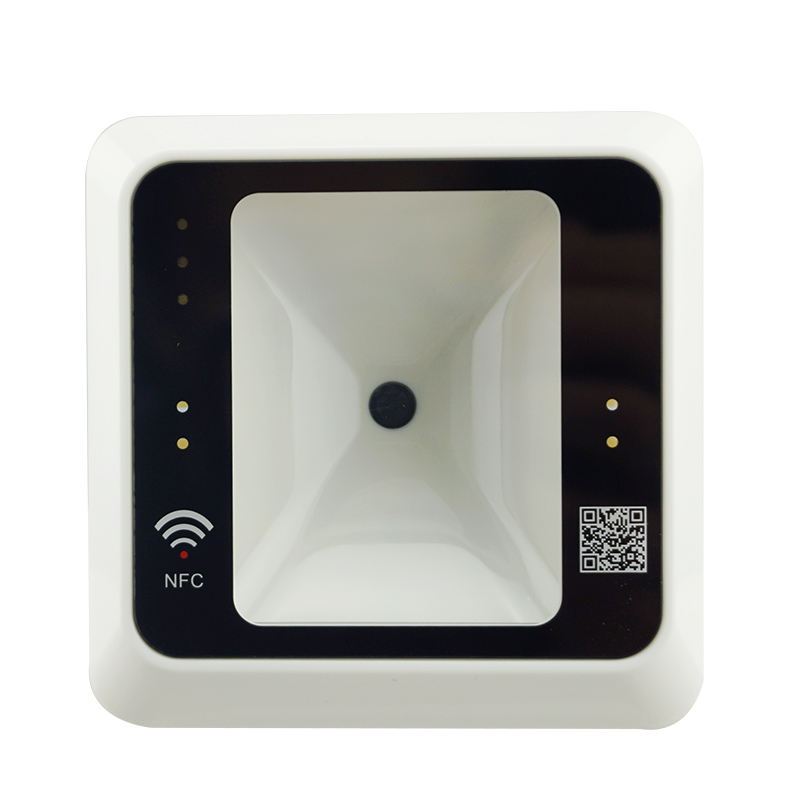 13.56MHz IC Smart Card RFID Reader Wiegand26/34 QR Code Door Access Control QR reader
