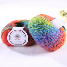 merino wool and nylon blend  yarn magic ball yarn for hand knitting