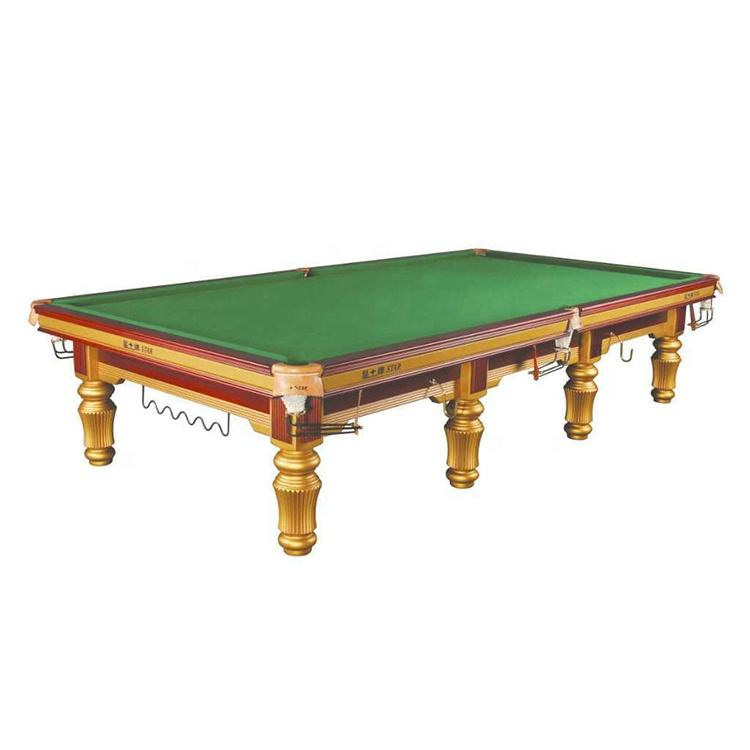 Hoge Prestaties Professionele 12ft Ster Snooker <span class=keywords><strong>Pooltafel</strong></span>