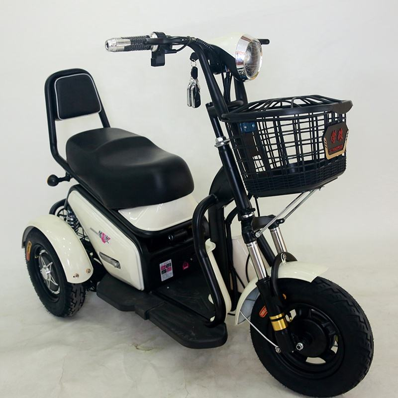 Chinese Manufacturer Strong Power 3 Wheel Motorcycle Electric Tricycle