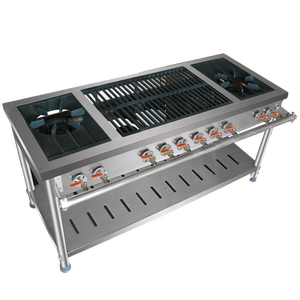 Industrial Kitchen Professional Supplier Hydrogen Burner/Gas Stove Stand/Commercial Burner Gas Stove Flat stove