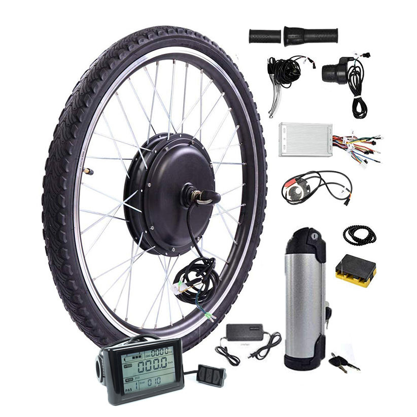 Cheap price Ebike motor kit 1500w 60v 72v motor kit, 26/27.5/28/700C electric bicycle electric bike kits DIY