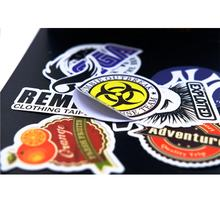 Custom Brand Logo Printed Waterproof Vinyl Die Cut Stickers