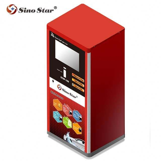 CE 10MPA coin/card operated self-service car wash machine price/self-service machine payment coin bus