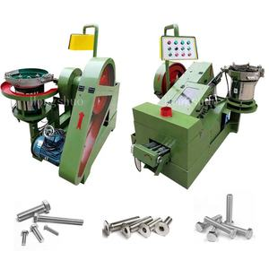 Full Automatic Screw Machinery Screw Thread Making Rolling Machine