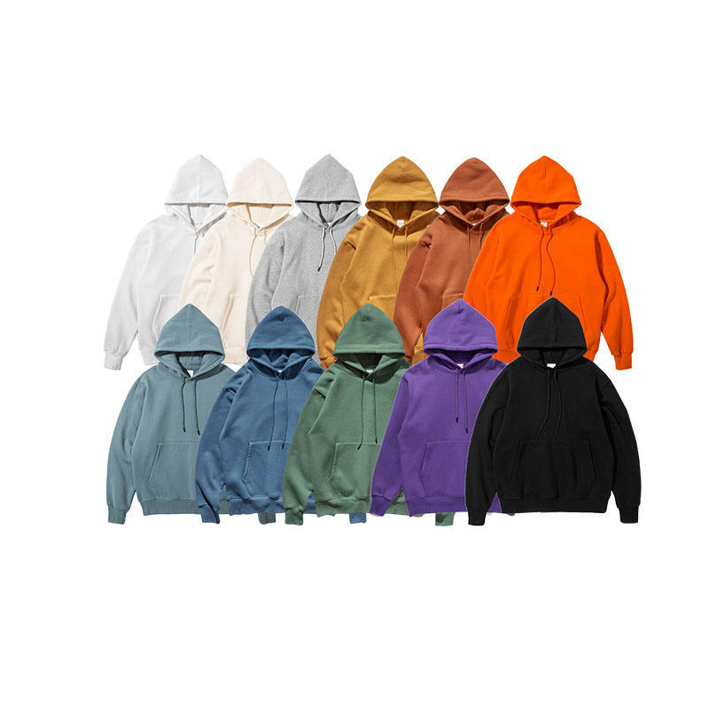 wholesales high quality OEM men's blank hoodies with logo custom logo printed sweatshirts pullover