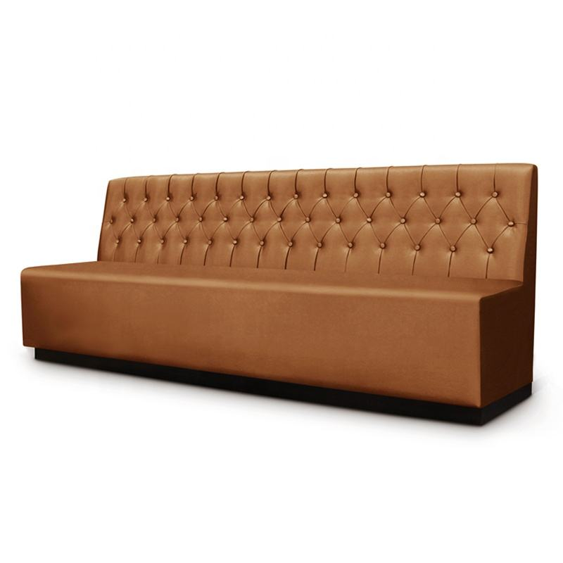 Italian Latest Brown Leather Covers Sofa Sets