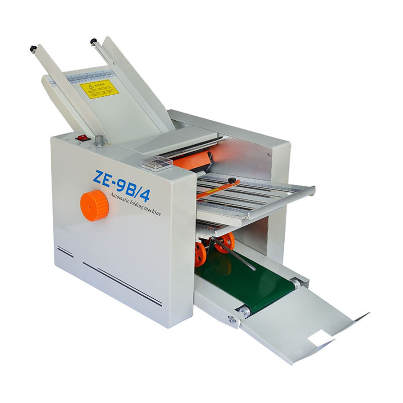 Automatic Paper Fold Machine With Digital Counter and Auto Stop