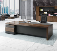2019 new big boss executive luxury office furniture modern design executive desk manager desk