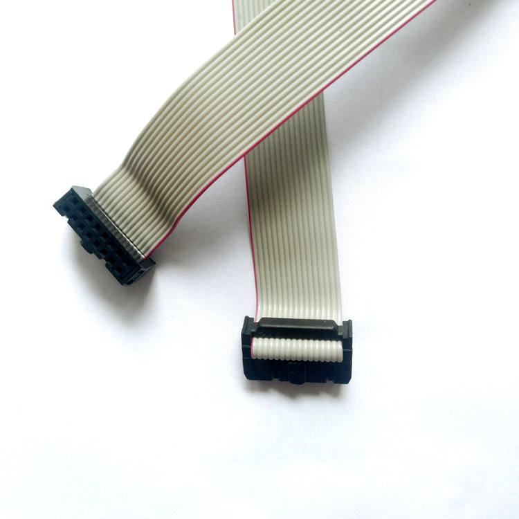 2.54mm Pitch 6P 10P 14P 16P 20P 40P IDC Flat Ribbon Cable