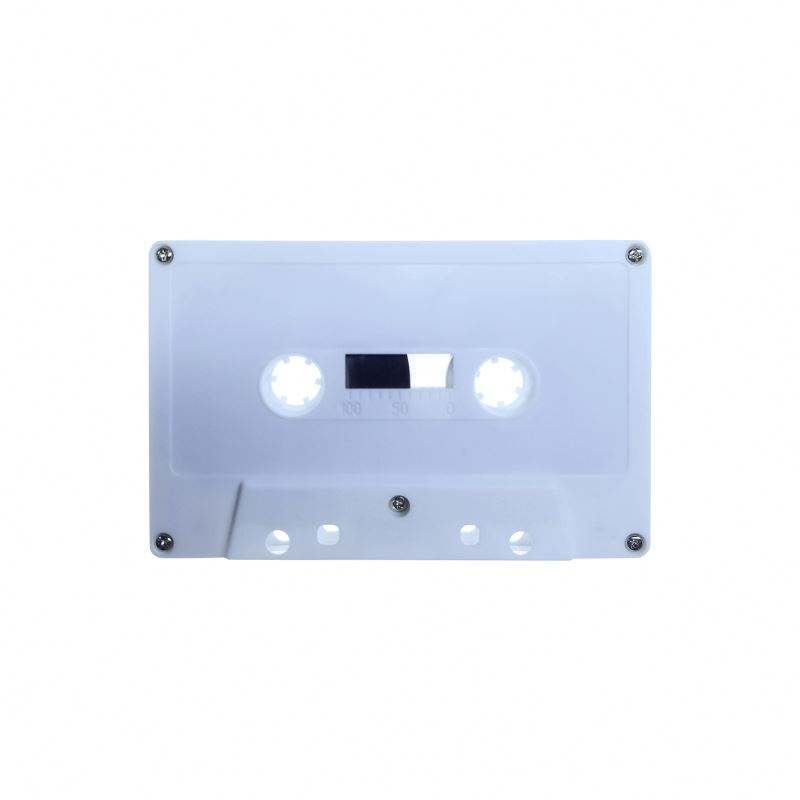 <span class=keywords><strong>Cassette</strong></span> <span class=keywords><strong>audio</strong></span> personnalisée en noir et <span class=keywords><strong>blanc</strong></span>, ruban <span class=keywords><strong>audio</strong></span> multicolore