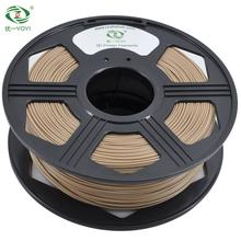 PLA wood 3d printer filament 1.75mm/2.85mm/3.0mm wood plastic rods for 3d printer