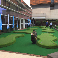 Top Quality indoor mini golf course putting green