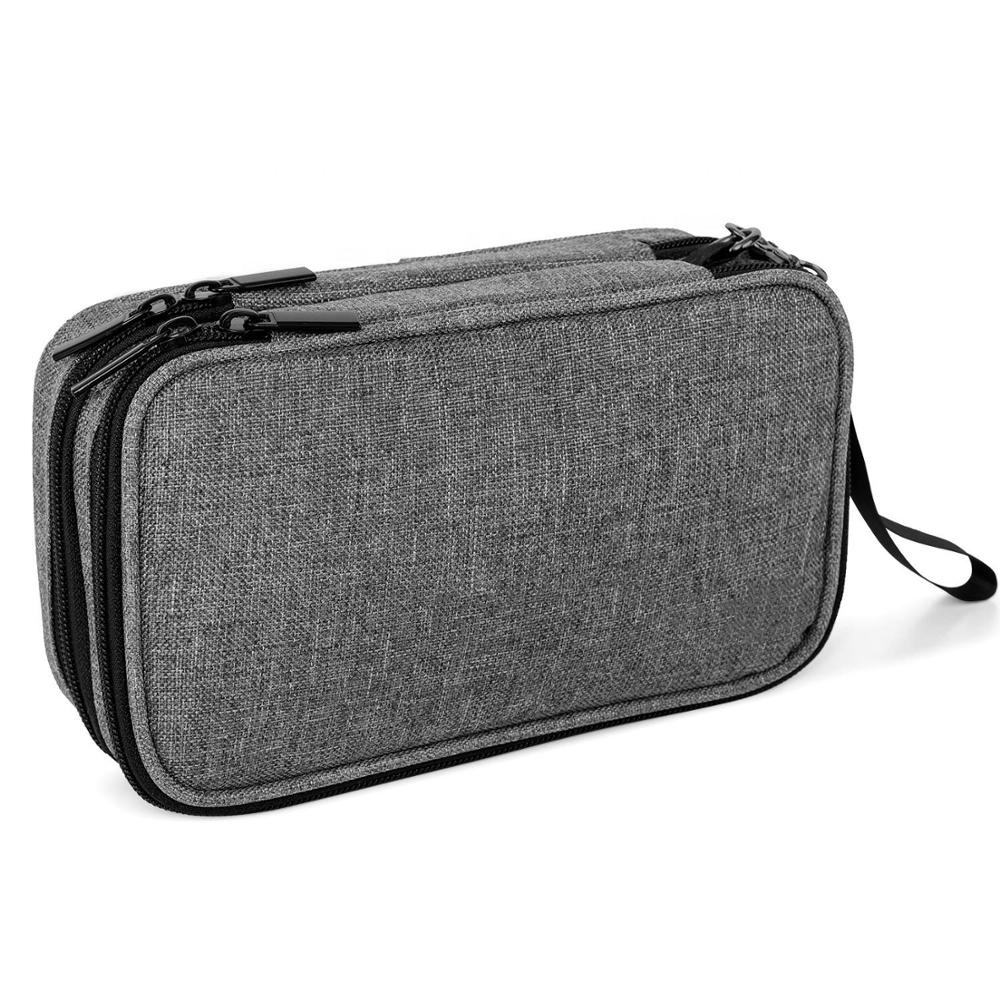 Travelling Cooler Box Daily Diabetic Insulin Cooler Bag Travel Case Short or Long Travel Storage Bag for Glucose Meter
