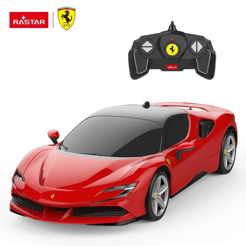 RASTAR racing toys Ferrari high speed model new remote control car for kids with lights