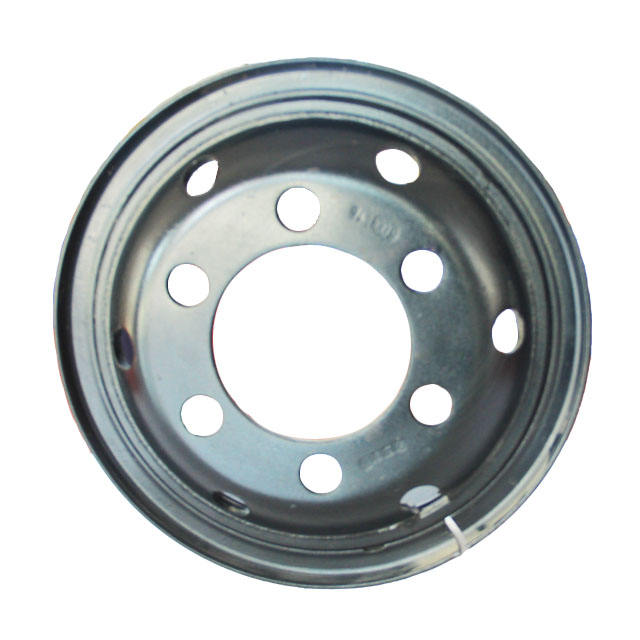 Chinese brand truck wheel rims 6.00-16 inch steel chrome car bus rims disc used for 7.50R16 tire size Auto Parts