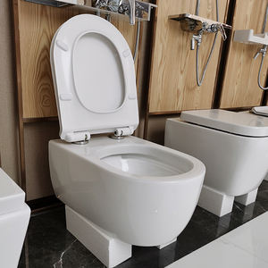 8882 wall hung toilet european p trap round ceramic rimless wall mounted toilet
