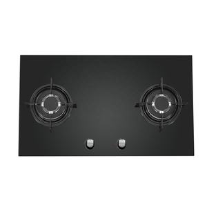 Gas Stove Household Tempered Glass 2 Burner Gas Stove With Safety Device