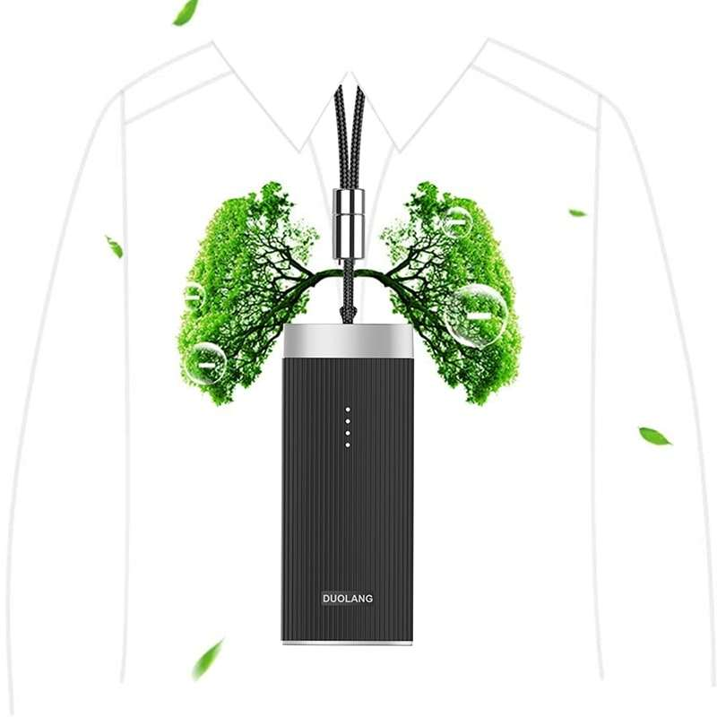 smart anion Mini Ionic Neck stay fresh Air Cleaner Ionizer Purifiers Wearable Personal Necklace Air Purifier