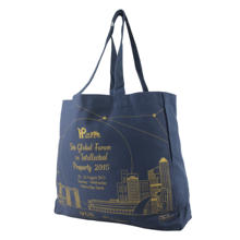 Top quality long strap shoulder canvas tote bags