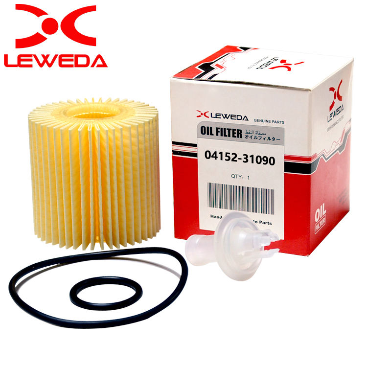 leweda brand High performance car engine oil filter 04152-31090 for EVORA