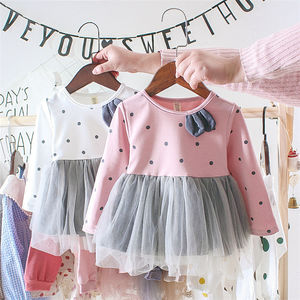 long sleeve baby girl lace fashion dress baby girl dresses children clothing dress