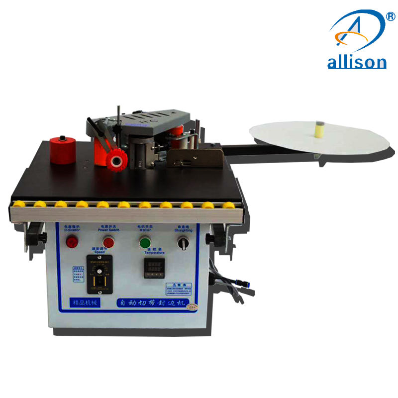 Small Portable Edge Banding Machine Double Side Gluing Manual Edge Banding Machine