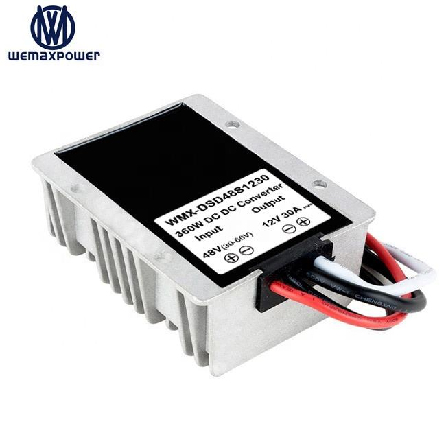 Goede Kwaliteit Auto Vrachtwagen Voltage Step Down <span class=keywords><strong>Converters</strong></span> 30A 48 Volt Naar 12 Volt Dc Dc Converter