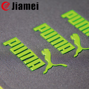 Custom High Density Iron on Silicone Heat Transfer Sticker Patch